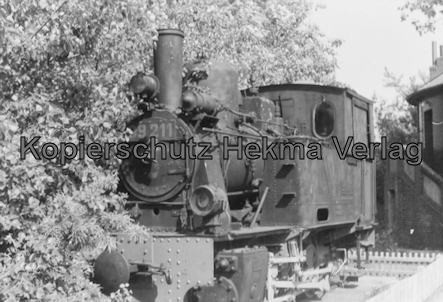 Wangerooge Inselbahn - Museumslok 99 211