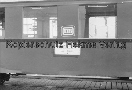 Wangerooge Inselbahn - Personenwagen