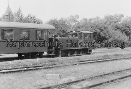 Wangerooge Inselbahn - Diesellok