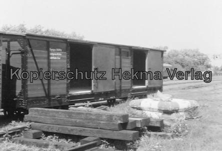 Wangerooge Inselbahn - Güterwagen