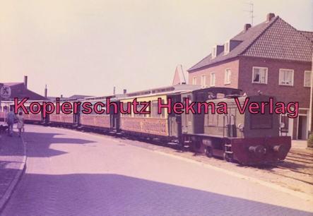 Borkum Inselbahn - Zug