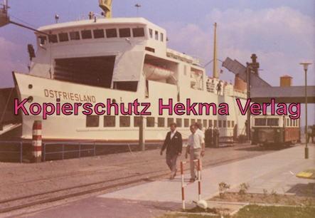 Borkum Inselbahn - Am Hafen