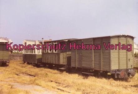 Borkum Inselbahn - Güterwagen