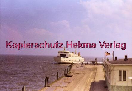 Borkum Inselbahn - Schiffsanleger
