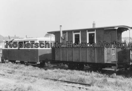 Borkum Inselbahn - Wagen
