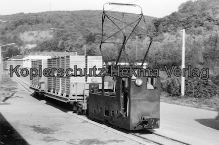 Busenbach Werkbahn - Werkbahn der Spinnerei - Baujahr 1918 - Spurweite 600 mm