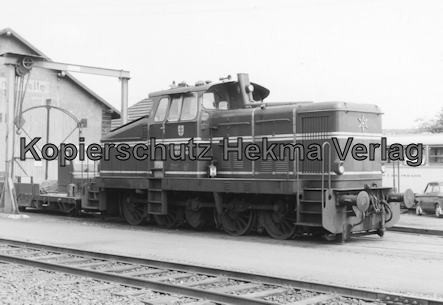 Hersfelder Kreisbahn - Bw. Schenklengsfeld - Diesellok