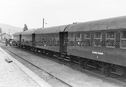 Hersfelder Kreisbahn - Bw. Schenklengsfeld - Personenwagen
