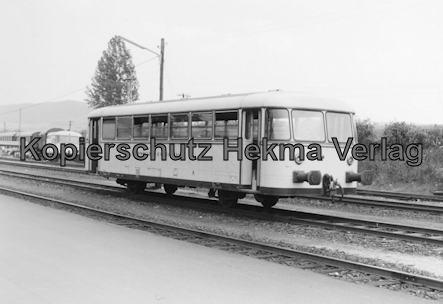 Hersfelder Kreisbahn - Bw. Schenklengsfeld - Schienenbus
