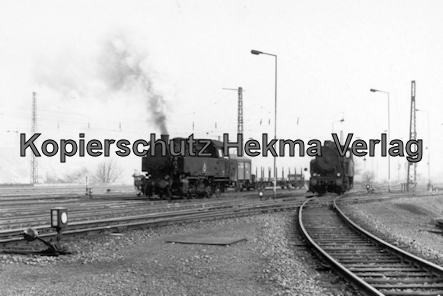 Landsweiler-Reden - Bahn der Saarbergbau AG in der Kokerei Landsweiler-Reden - Dampflok