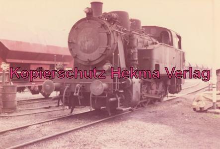 Landsweiler-Reden - Bahn der Saarbergbau AG in der Kokerei Landsweiler-Reden - Letzte Dampflok