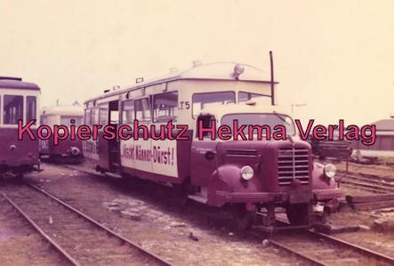 Sylt Inselbahn - Borgward-Sattelschleppertriebwagen