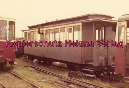Sylt Inselbahn - Personenwagen