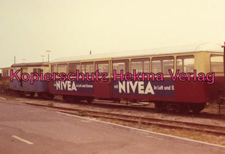 Sylt Inselbahn - Wagen