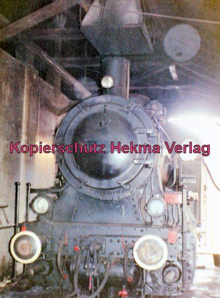 Bayernwaldbahn - Deggendorf-Metten - Bahnhof Deggendorf - Dampflok im Lokschuppen
