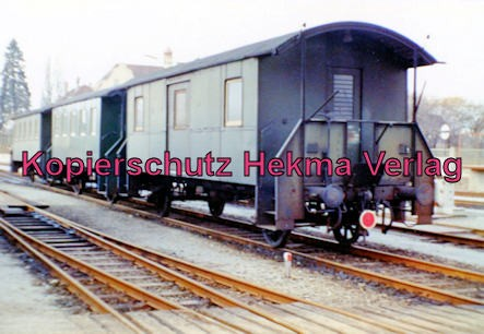 Bayernwaldbahn - Deggendorf-Metten - Bahnhof Deggendorf - Personenwagen