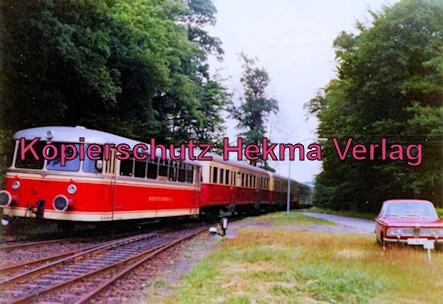 Bentheimer Eisenbahn A.G. - Bahnhof Bentheim-Nord - Personenwagen