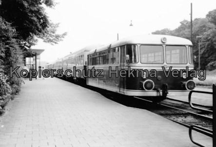 Bentheimer Eisenbahn A.G. - Bahnhof Bentheim-Nord - Zug