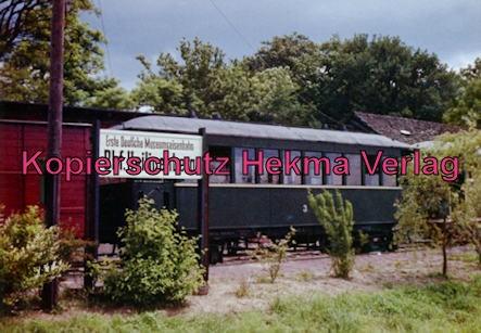 Erste Museumseisenbahn Deutschlands - Bruchhausen-Vilsen-Heiligenberg-Asendorf - Bahnhof Heiligenberg - Personenwagen