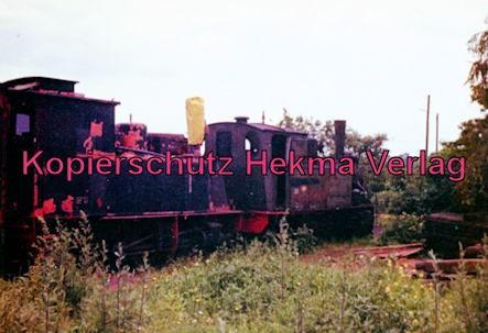 Erste Museumseisenbahn Deutschlands - Bruchhausen-Vilsen-Heiligenberg-Asendorf - Bahnhof Heiligenberg - Dampflok