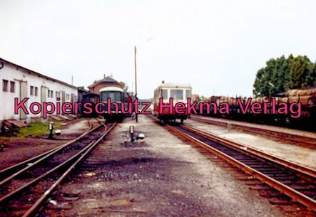 Verkehrsbetriebe Grafschaft Hoya - Bahnhof Bruchhausen-Vilsen - Triebwagen