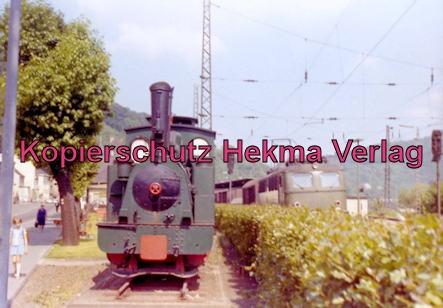 KAE Kreis Altener Eisenbahn - Feuriger Elias - Bahnhof Altena - Lok 13 Erb. Hohenzollern, 1907, (Cn2)