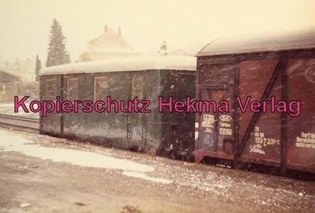 Privatbahn Lam-Kötzting - Bahnhof Kötzting - Güterwagen