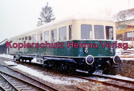 Privatbahn Lam-Kötzting - Bahnhof Kötzting - Personenwagen