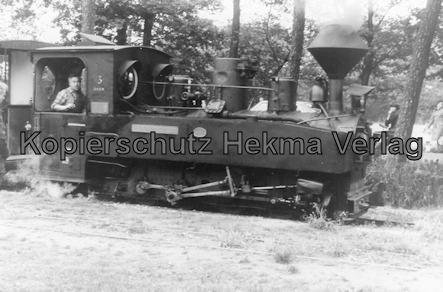 Dampf-Kleinbahn Mühlenstroth Gütersloh - Mühlenstroth - Dampflok Fürstpückler 3 DKBM (DDR)