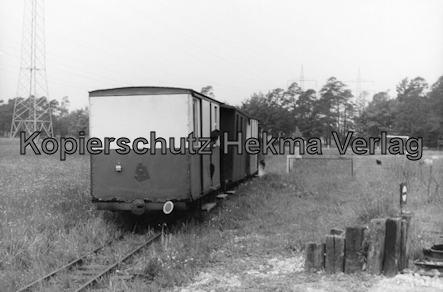 Dampf-Kleinbahn Mühlenstroth Gütersloh - Mühlenstroth - Wagen Eigenbau