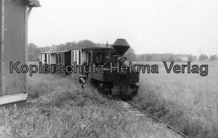Dampf-Kleinbahn Mühlenstroth Gütersloh - Mühlenstroth - Dampflok mit Wagen Eigenbau