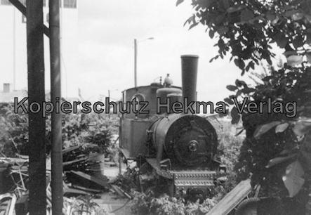 Nassauische Kleinbahn AG - Schrottplatz in Limburg - Letzte Dampflok