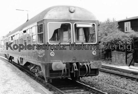 Osthannoversche Eisenbahn A.G. - Bahnhof Soltau - Triebwagen