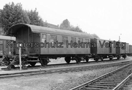 Osthannoversche Eisenbahn A.G. - Bahnhof Celle - Personenwagen