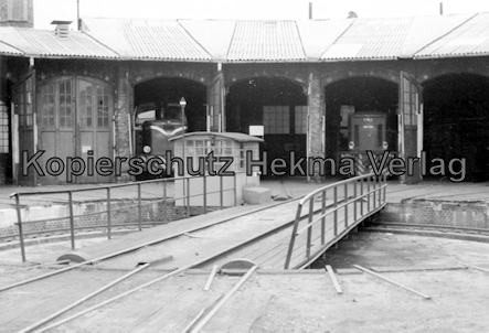 Osthannoversche Eisenbahn A.G. - Celle - Lokschuppen