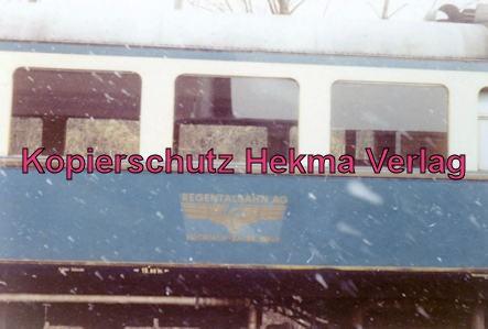 Regentalbahn AG - Viechtach-Blaibach-Gotteszell - Bahnhof Viechtach - Triebwagen