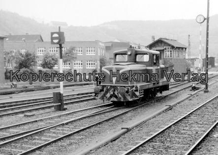 Siegener Kreisbahn GmbH- Kleinbahnhof Siegen - Diesellok