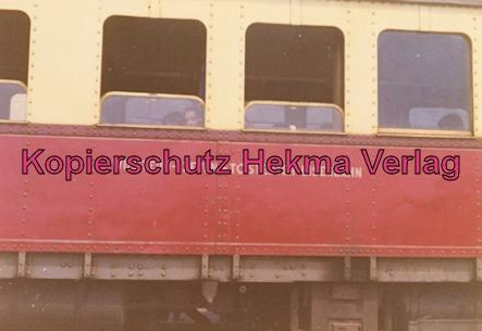 Tostedter Eisenbahn - Wilstedt-Zeven-Tostedter Eisenbahn - Bahnhof Zeven Süd - Triebwagen Baujahr 1931 Gotharer Wagenfabrik