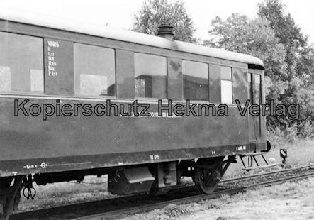 Tostedter Eisenbahn - Wilstedt-Zeven-Tostedter Eisenbahn - Bahnhof Zeven Süd - Triebwagen VB 815