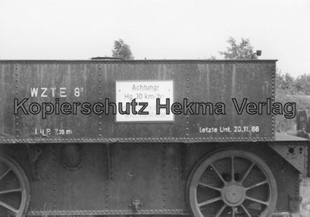 Tostedter Eisenbahn - Wilstedt-Zeven-Tostedter Eisenbahn - Alter Tender mit Schneepflug