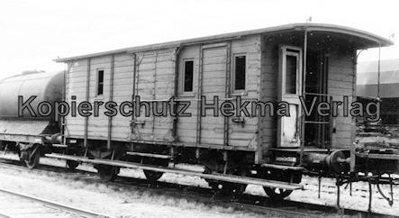 Tostedter Eisenbahn - Wilstedt-Zeven-Tostedter Eisenbahn - Güterwagen