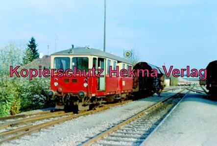 Württembergische Eisenbahngesellschaft Stuttgart - Bahnhof Vaihingen - Triebwagen