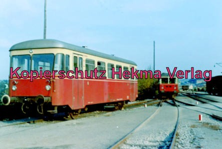 Württembergische Eisenbahngesellschaft Stuttgart - Bahnhof Vaihingen - Beiwagen