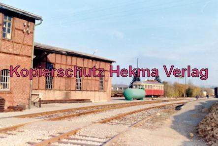 Württembergische Eisenbahngesellschaft Stuttgart - Bahnhof Vaihingen - Lokschuppen