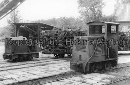 Bederkesa - Torfwerk Süderleda bei Bederkesa - Betriebsbahnhof - Dieselloks