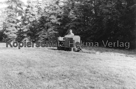 Bederkesa - Torfwerk Süderleda bei Bederkesa - Betriebsbahnhof - Diesellok