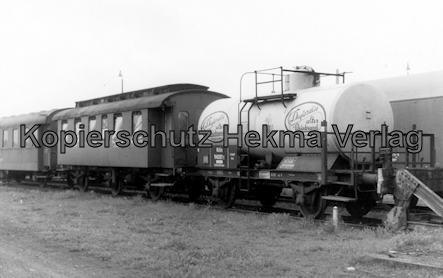 Braunschweiger Eisenbahnfreunde - Fahrzeugsammlung - Personen- und Kesselwagen