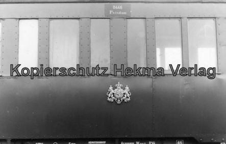 Braunschweiger Eisenbahnfreunde - Fahrzeugsammlung - Personenwagen 0446 Potsdam