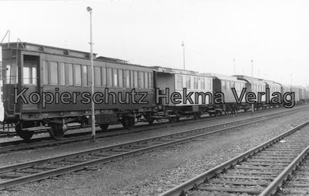 Braunschweiger Eisenbahnfreunde - Fahrzeugsammlung - Personen- und Güterwagenwagen