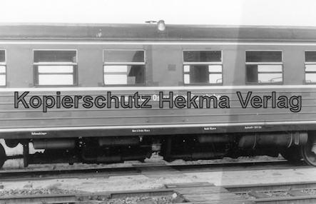 Bremervörde - Osterholzer Eisenbahn - Abstellgleis - Personenwagen